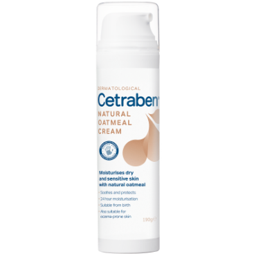 Cetraben Natural Oatmeal Cream